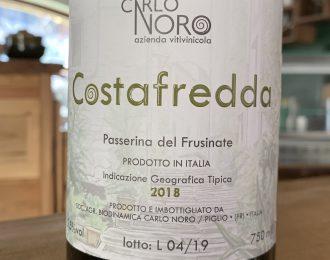 Carlo Noro – Costafredda Passerina del Frusinate 2018