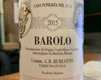 Comm. G.B. Burlotto – Barolo 2015