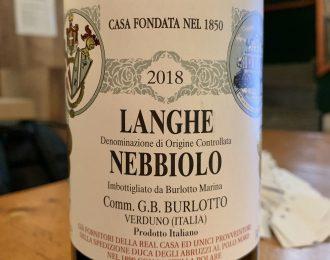 Comm. G.B. Burlotto – Langhe Nebbiolo 2018